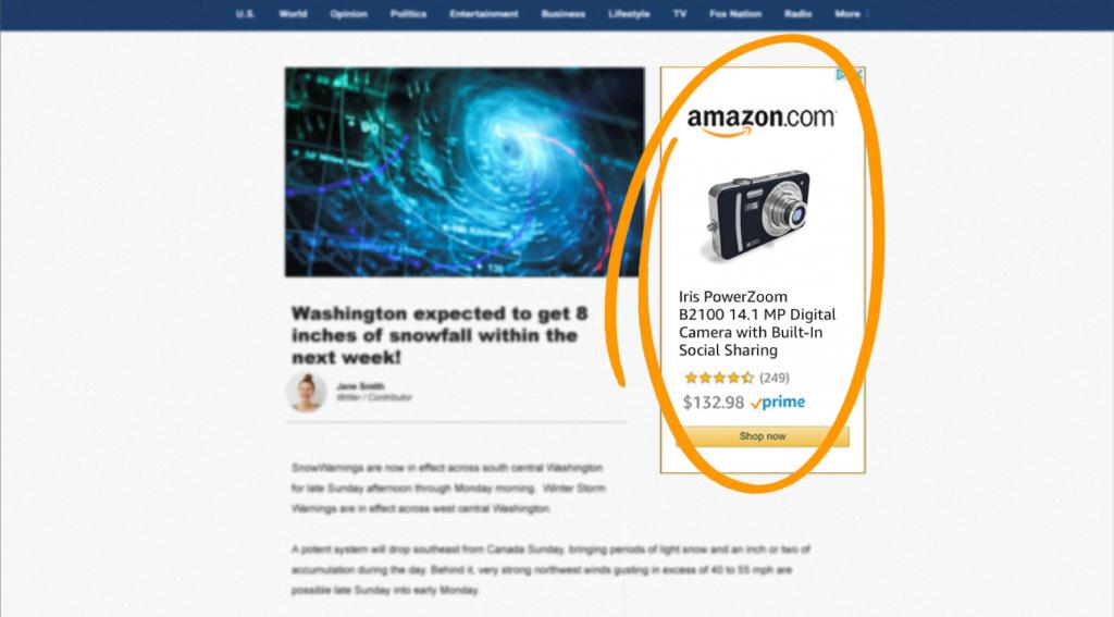 Sponsored Display or Product Display Ads Amazon